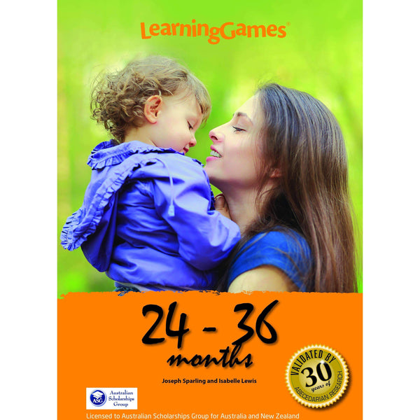 LearningGames 24 – 36 Months - Educational Resources