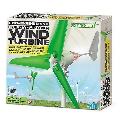 4M Eco-Engineering Build Your Own Wind Turbine - Educational Resources