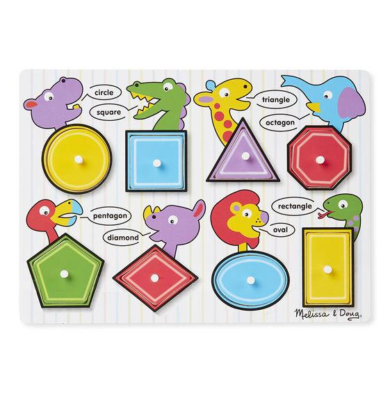 M&D – Shapes Peg Puzzle - Educational Resources