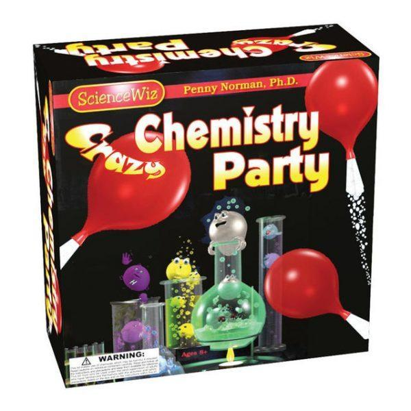 ScienceWiz Crazy Chemistry Party Kit - Educational Resources