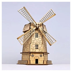 DIY Holland Windmill Style Solar Powered Toy - Educational Resources