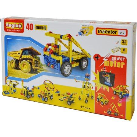 Engino Inventor Pro – 40 Models Set with Motor