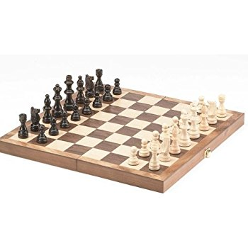 Chess board game wooden - Educational Resources
