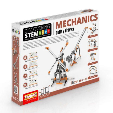 S.T.E.M Mechanics – Pulley Drives - Educational Resources