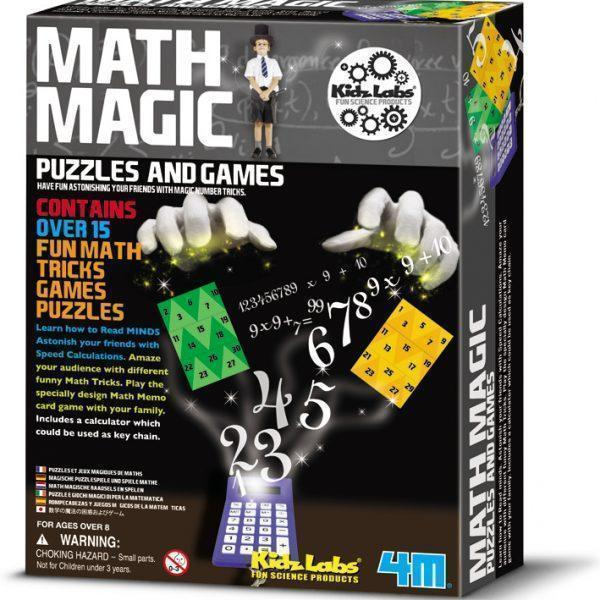 4M KidzLabs Math Magic Game - Educational Resources