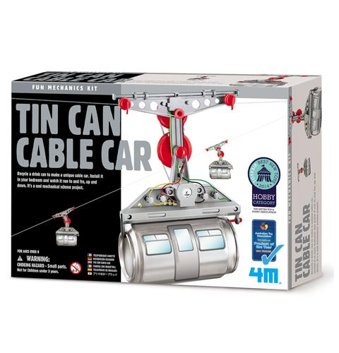 4M Tin Can Cable Car - Educational Resources