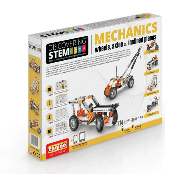 S.T.E.M Mechanics – Wheels, Axles & Inclined Planes - Educational Resources
