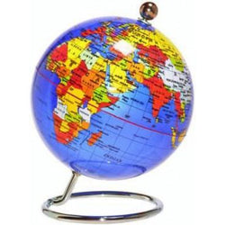 Blue Desk Globe – 20cm - Educational Resources