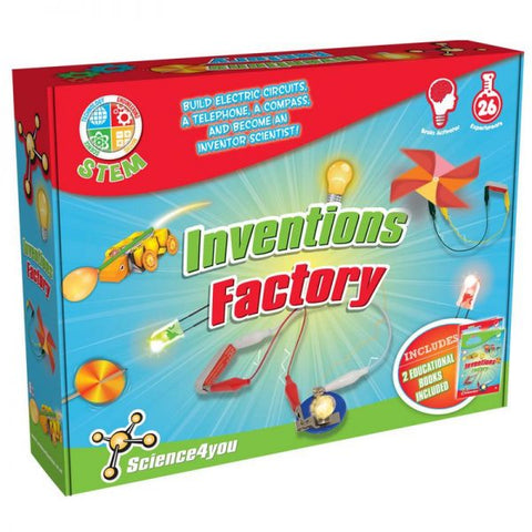 Science4you Inventions factory - Educational Resources