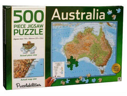 Australia 500 Piece Jigsaw Puzzle - Educational Resources