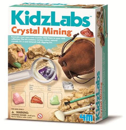 4M Kidz Lab Crystal Mining - Educational Resources