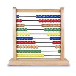 Melissa & Doug Wooden Abacus - Educational Resources