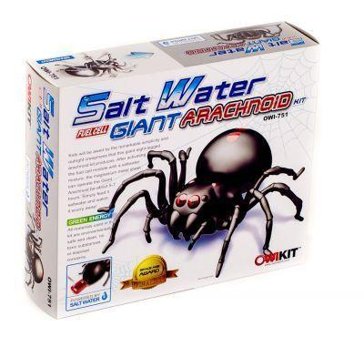 4M Salt Water Fuel Cell Robotic Spider - Educational Resources