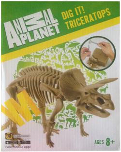 Animal Planet – Dig It Triceratops - Educational Resources