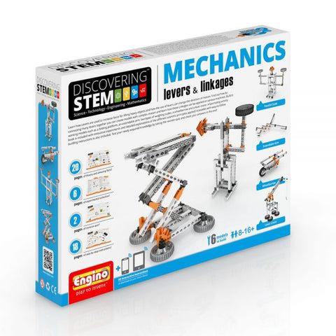 S.T.E.M Mechanics – Levers & Linkages - Educational Resources