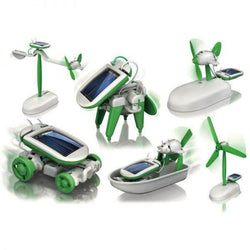 Diy 6 In 1 Educational Solar Toy  Robot Kit - Educational Resources