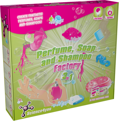 Science4u Perfume, Soap and Shampoo Factory 3 in 1 - Educational Resources