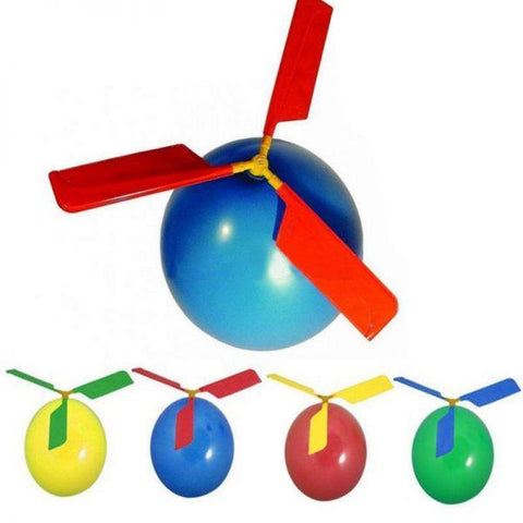 Educational toys balloon aircraft, balloons helicopters - Educational Resources