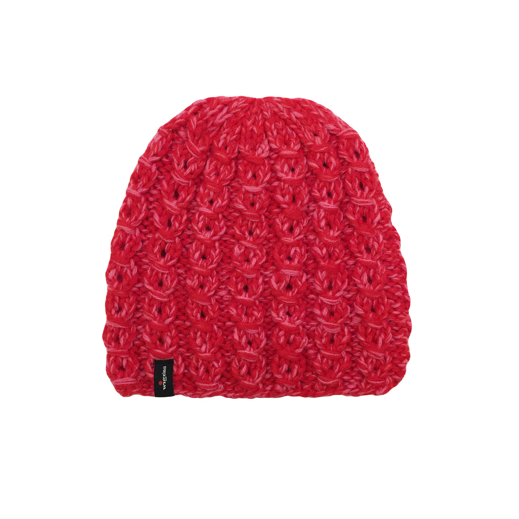Pink and Red Beanie