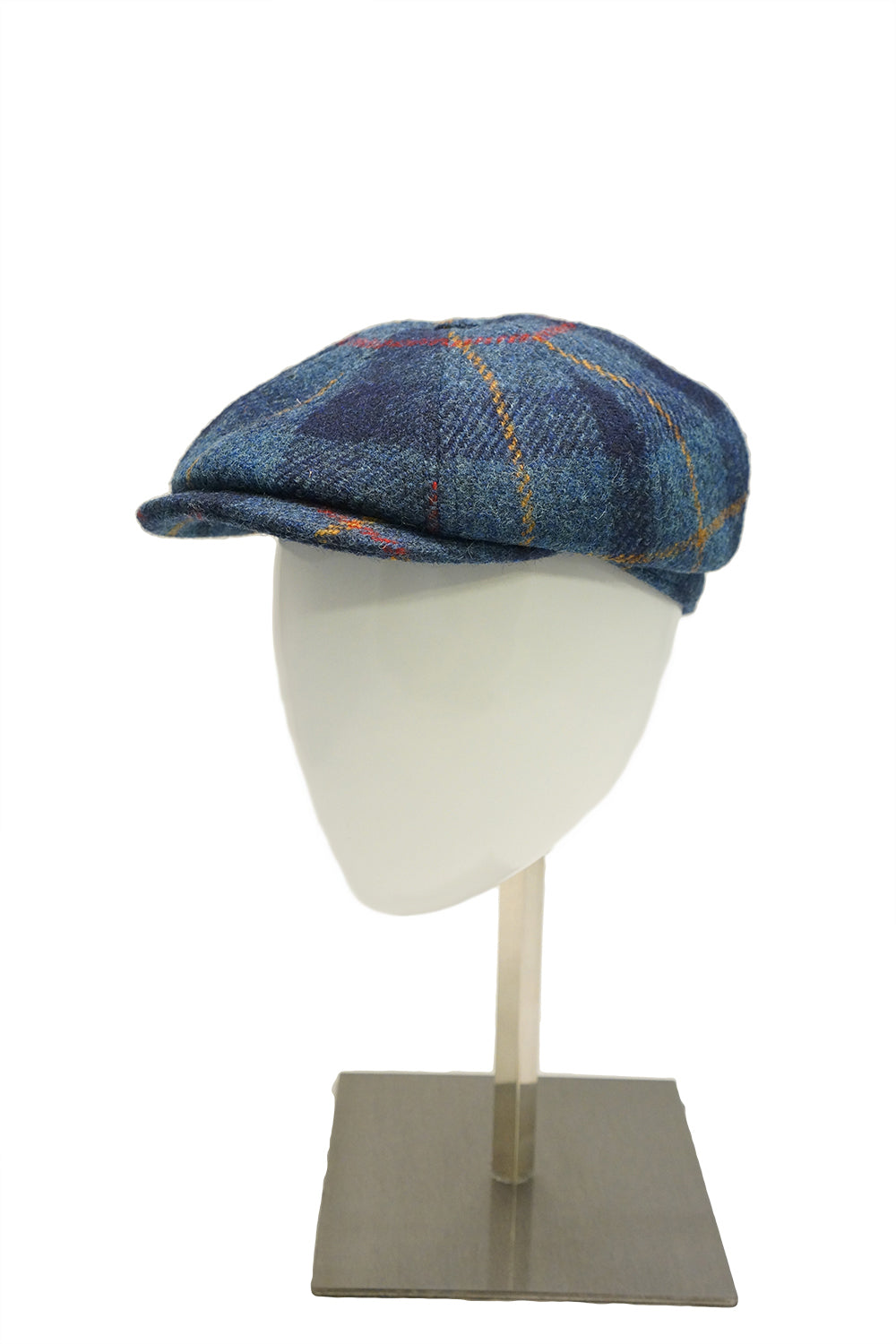 Harris Tweed Baker - Blue