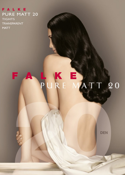 Pure Matt Tights by Falke