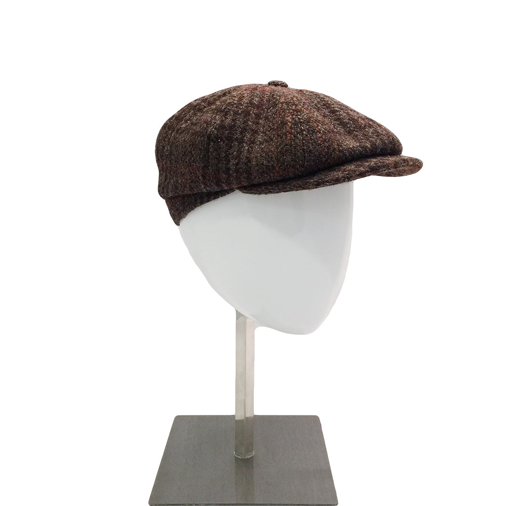 Harris Tweed Baker - Brown