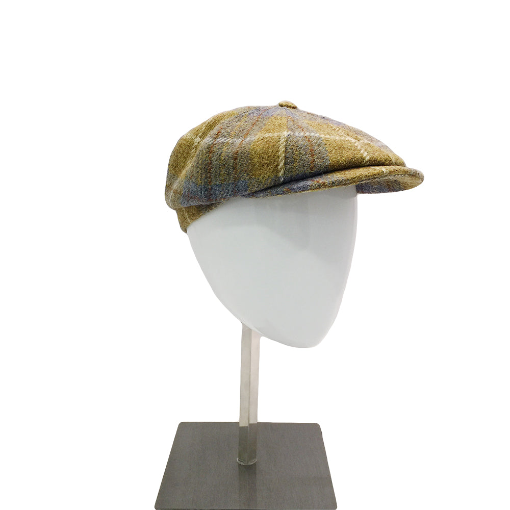 Harris Tweed Baker - Mustard