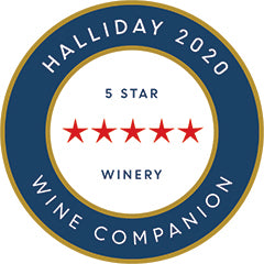 Halliday Red 5-Star 2020 Roundel