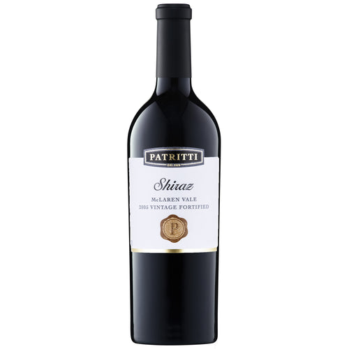 2005 Vintage Fortified Shiraz