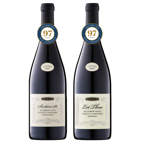 Patritti Grenache-Shiraz 97 Point Pack