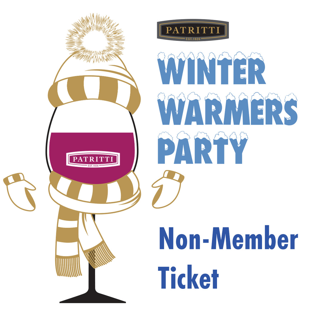 Winter Warmers NON-MEMBER Ticket
