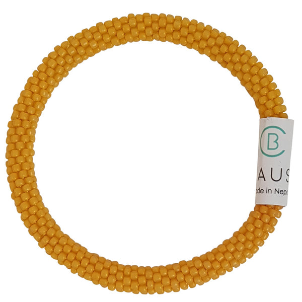 Peach Cobbler Frosted Roll - On Bracelet - Chausie