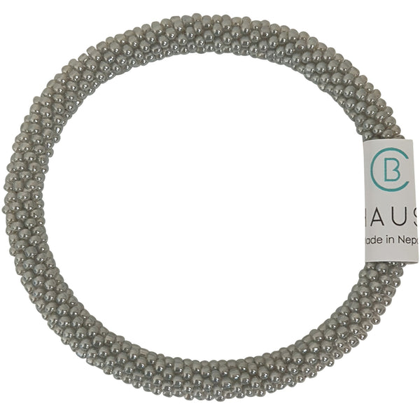 Ceylon Grey Roll - On Bracelet - Chausie