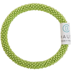 Lustered Sour Apple Roll - On Bracelet - Chausie