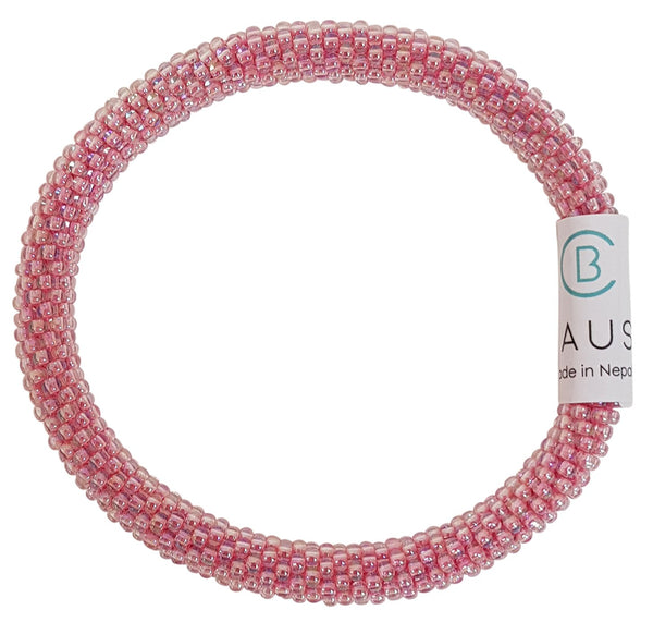 Ballerina Pink Roll - On Bracelet