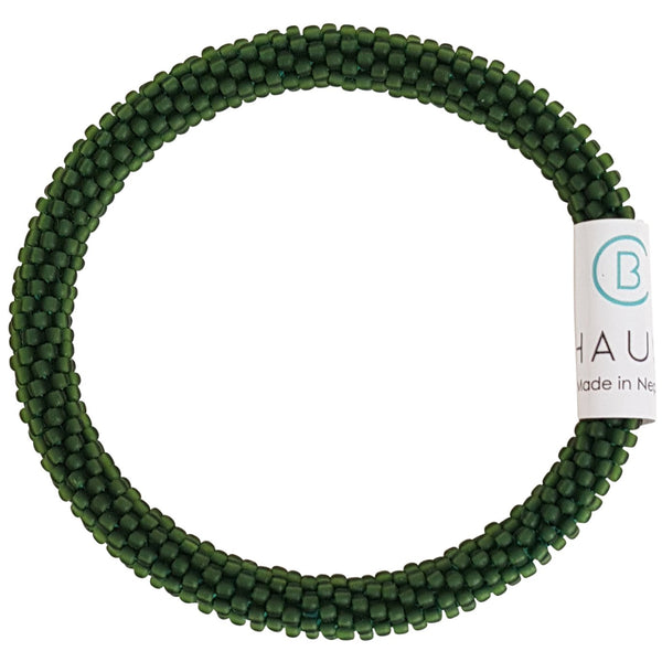 Olivine Matte Roll - On Bracelet - Chausie