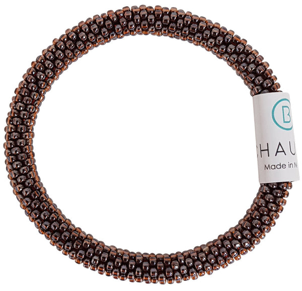 Dark Topaz Lustered Roll - On Bracelet - Chausie