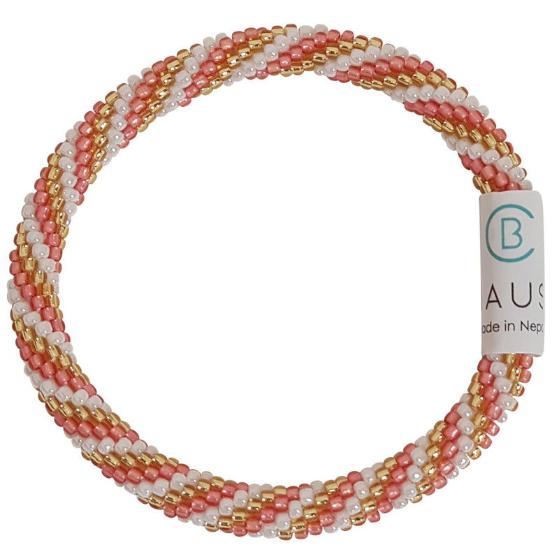 """Charlotte Almond"" Roll - On Bracelet"