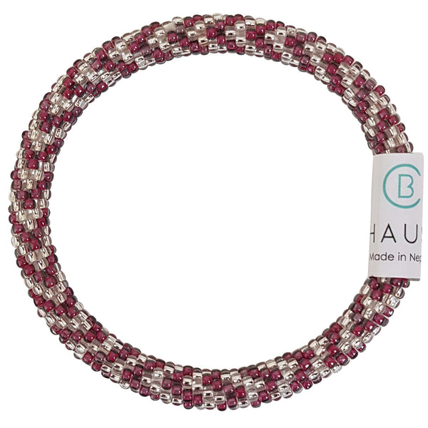 """Olivia Plum"" Roll - On Bracelet"