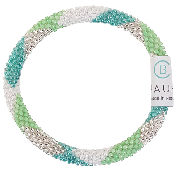 """Maddison Green"" Roll - On Bracelet"