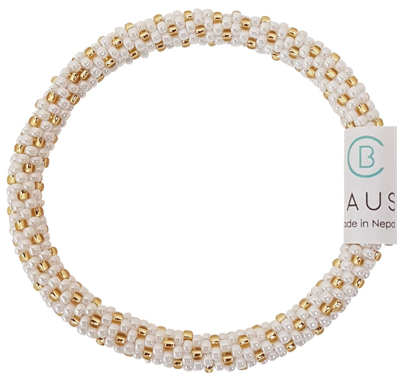 """Katie Gold"" Roll - On Bracelet"