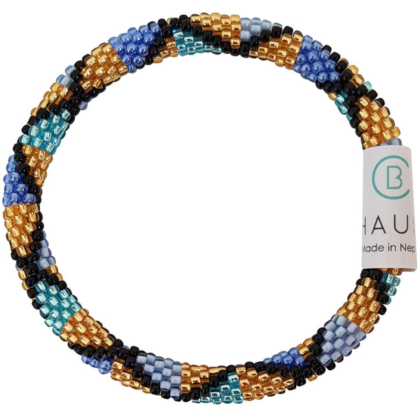 "Stack ""Dusk"" Roll - On Bracelet"