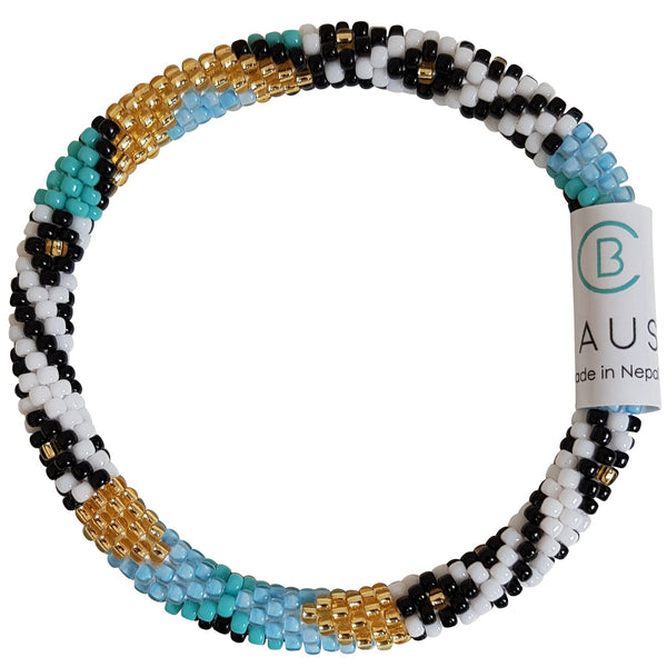 """Paloma"" Roll - On Bracelet"