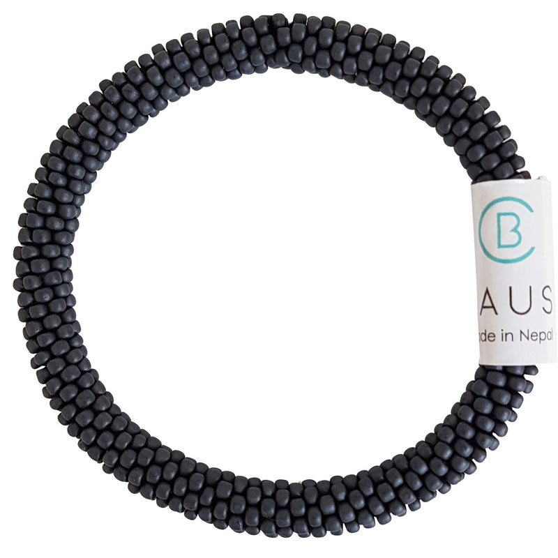 Matte Grey Kids Roll - On Bracelet - Chausie