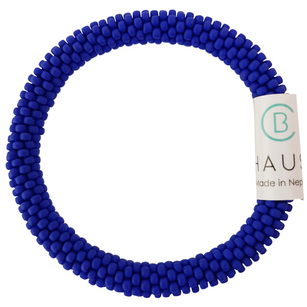 Matte Blue Kids Roll - On Bracelet - Chausie