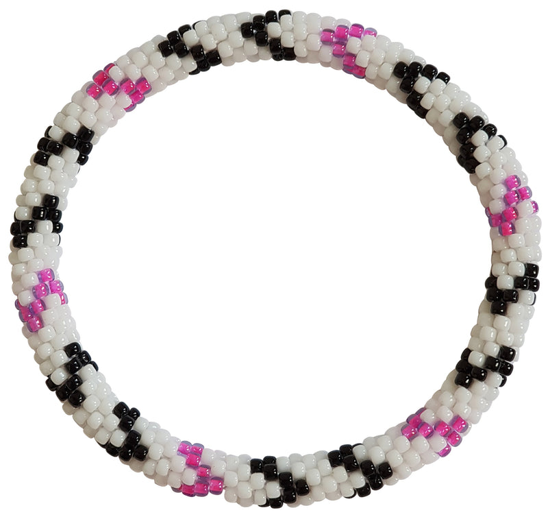 "Stack ""Wednesday"" Roll - On Bracelet"