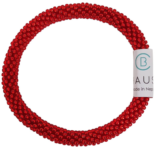 Siam Ruby Roll - On Bracelet