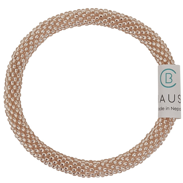 Rose Gold Roll - On Bracelet