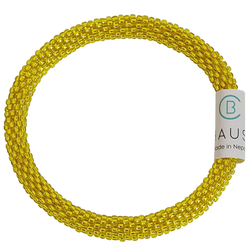 "Stack ""Lemon and Lime"" Roll - On Bracelet"
