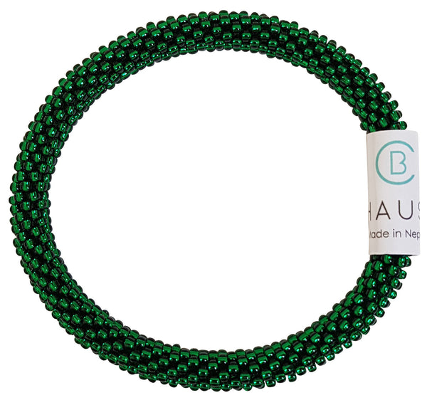 Grass Green Roll - On Bracelet